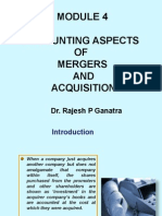 Accounting Aspects for Mergers and Acquisitions (2)