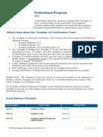 2013-07 Td14 Pre-release Notice(v5 4)Final
