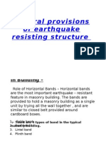 General Provisions of Earthquake Resisting Structure