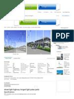 Street Light Highway Hinged Light Poles Parts - Buy 60w Led Lamp,Prices of Solar Street Lights,Solar Power Street Light Product on Alibaba
