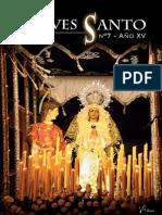 Revista Jueves Santo Virgen Dolores Santisteban 2015