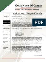 Canaan Baptist Church - January 2015 Newsletter - Web Edition
