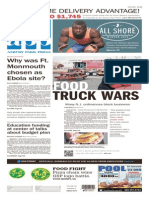 Asbury Park Press front page, Saturday, March 28, 2014