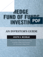 Hedge Fund of Funds Investing-An Investor's Guide