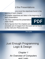 Programming and Logic Slide 1