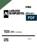Catalogo de Repuestos Fazzer 250
