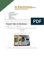 Taller de ElectrónicaVideos con procesos de reparación de televisores.docx
