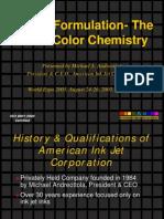 Inkjet Ink Formulation-The Art of Color Chemistry