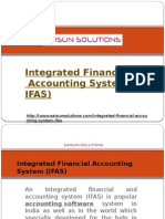 Integrated Financial Accounting Software IFAS