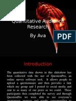 Quantitative Audience Research