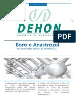 Boro_Esteroides e Inflamação