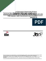 36106-870-FDD Repeater Radio Transmission and Reception