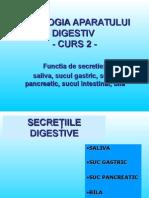 Fiziologia Aparatului Digestiv Medicina an 1