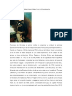 Biografía Del Generalísimo Francisco de Miranda