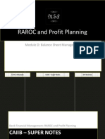 72873463 CAIIB Super Notes Bank Financial Management Module D Balance Sheet Management RAROC and Profit Planning