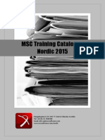 MSC Trainings 2015