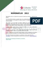 E-Novedades NominaPlus 2012[2] Copy
