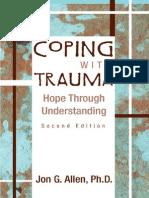 Coping With Trauma Hope Through Understanding