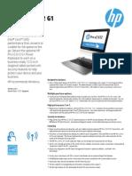 HP Prox2 612 Datasheet
