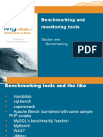 Benchmarking and Monitoring  Tools of the Trade (Part I) Presentation