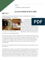El Atraso Cambiario Ya Es Similar Al de La Caída Del 1 a 1 - 16.02.2015 - Lanacion