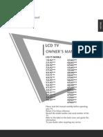 Lg Lcd Tv Manual