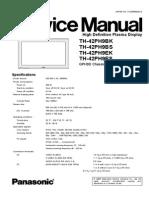 Panasonic TH-42PH9E Service Manual