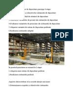 Proiectarea Sistemelor de Depozitare Parcurge 6 Etape