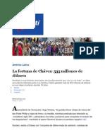 Fortuna de Familia Chavez Frias