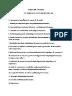Auditul Performantei - Subiecte Examen
