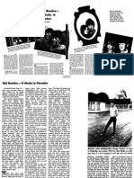 Old Beatles by Maureen Cleave NYTimes July 3rd 1966