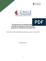Chile Transparente Transparencia en Los PP