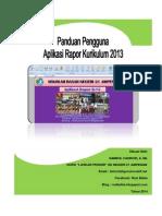 Panduan Aplikasi Rapor K-13
