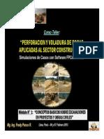 Módulo 1 - Conceptos Basicos Sobre Excavaciones en Proyectos y Obras Civiles (06-Feb-15)