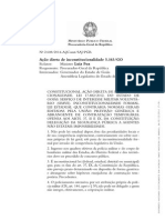 ADI 5163 - Manifestação PGR - Peça 63