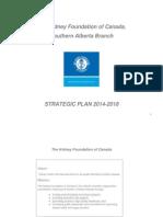kidney foundation strategic plan pdf