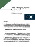 Hernando 1997 - La identidad Q'eqchí. Percepción de la realidad y autoconciencia de un grupo de agricultores de roza de Guatemala