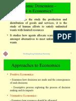 1 Economic Dimension
