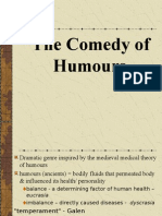 Comedy of Humours