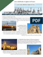 Cathédrales et Eglises de France