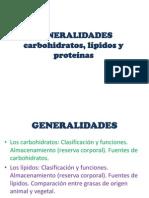 Generalidades de Cho,Lip y Prot