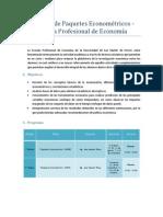 Taller Econometrico USMP