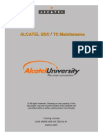 BSC TC Maintenance (Alcatel)