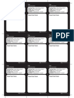 graphic regarding Printable Spell Cards 5e named Dungeons and Dragons 5e blank spell playing cards