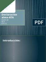 Declaración Alma Ata