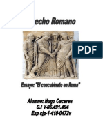 Concubinato en Roma