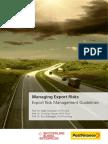 Exportrisikomanagement SGE En