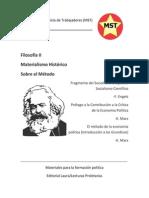Filosofía Vol II - Fragmento de Introducción a los Grundisse