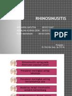 Rhinosinusitis ppt