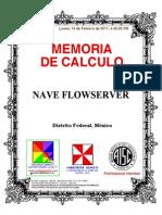 Memoria de Calculo Flowserver